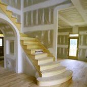 drywall stairs
